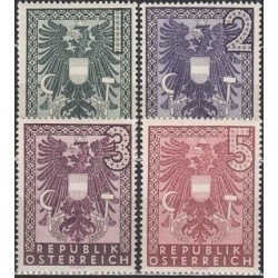Austrija 1945. Herbai