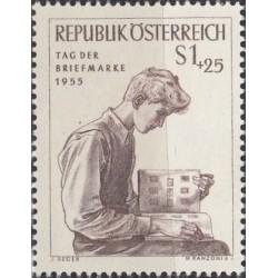 Austria 1955. Stamp Day