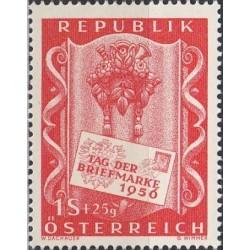 Austrija 1956. Pašto ženklo...