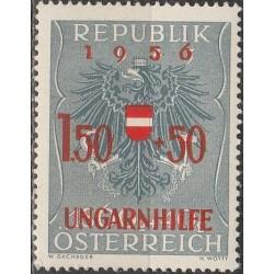 Austrija 1956. Herbas,...