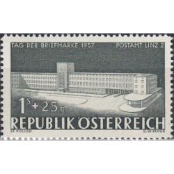 Austrija 1957. Pašto ženklo...
