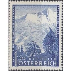 Austrija 1958. Slidinėjimo...
