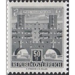 Austrija 1959. Architektūra