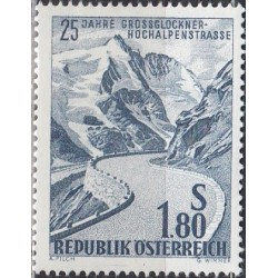Austria 1960. Mountain road