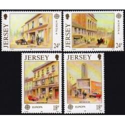 Džersis 1990. Pašto pastatai