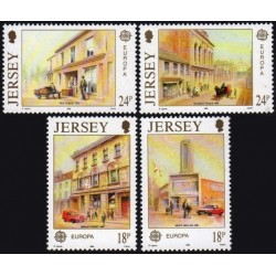 Jersey 1990. Post Offices