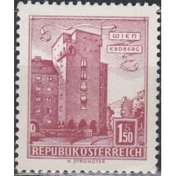 Austrija 1965. Architektūra