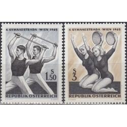 Austrija 1965. Gimnastika