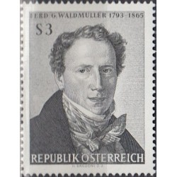 Austria 1965. Painter