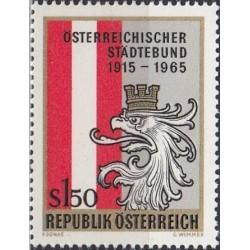 Austria 1965. Union of towns