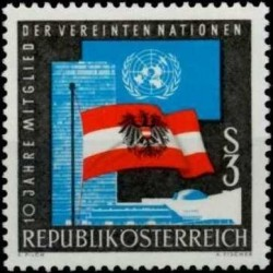 Austrija 1965. Herbai