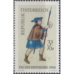 Austrija 1966. Pašto ženklo...