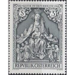 Austria 1967. Gothic art