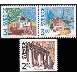 Sweden 1990. Post Offices