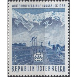 Austria 1968. Winter sports