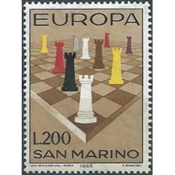 San Marino 1965. Chess