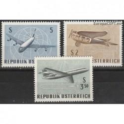 Austria 1968. Airplanes