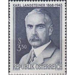 Austria 1968. Nobel Prize...