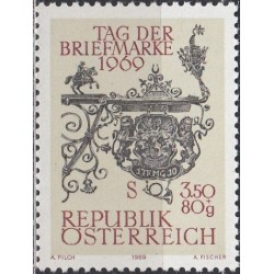 Austria 1969. Stamp Day