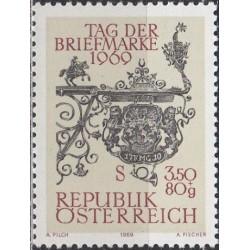 Austrija 1969. Pašto ženklo...