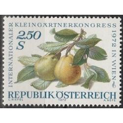 Austria 1972. Fruits
