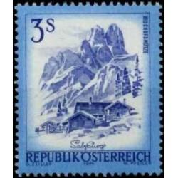Austrija 1974. Kraštovaizdžiai