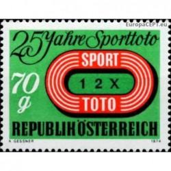 Austria 1974. Sporttoto