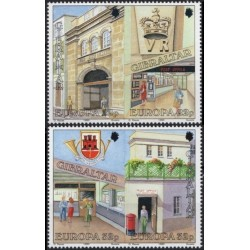 Gibraltar 1990. Post Offices