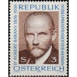 Austria 1976. Nobel Prize...