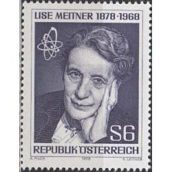 Austrija 1978. Mokslininkė...
