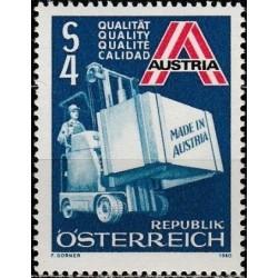 Austrija 1980. Eksportas