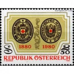 Austria 1980. Red Cross