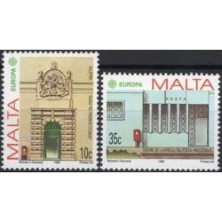 Malta 1990. Post Offices