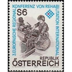 Austrija 1981. Neįgaliųjų...